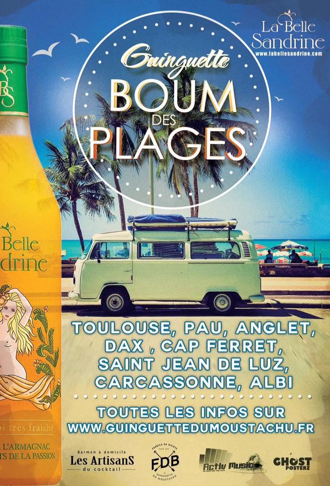 """Guinguette """"Boum des plage"""" - Carré Vert Colomiers - été 2017 - La Belle Sandrine"""
